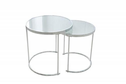 Set de masă INVICTA ART DECO crom - sticlă, metal