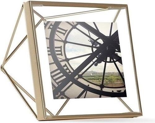 Rama foto UMBRA PRISMA 10x10 cm - auriu