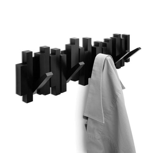 UMBRA cuier pentru haine STICKS negru