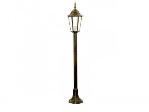 Lampa de grădină alum POLUX LIGURIA-LT GLA104LTMPT patină pentru contor