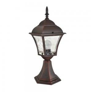 Lampa de grădină cu vitraliu (34 cm) - PARIS 2 (bec bec LED 2in1 inclus) small 0