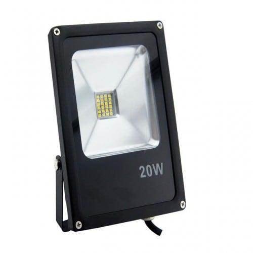 Proiector LED POLUX 20W IP65 negru