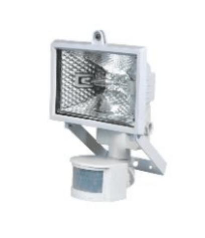 Proiector halogen POLUX PH78WSR cu senzor alb