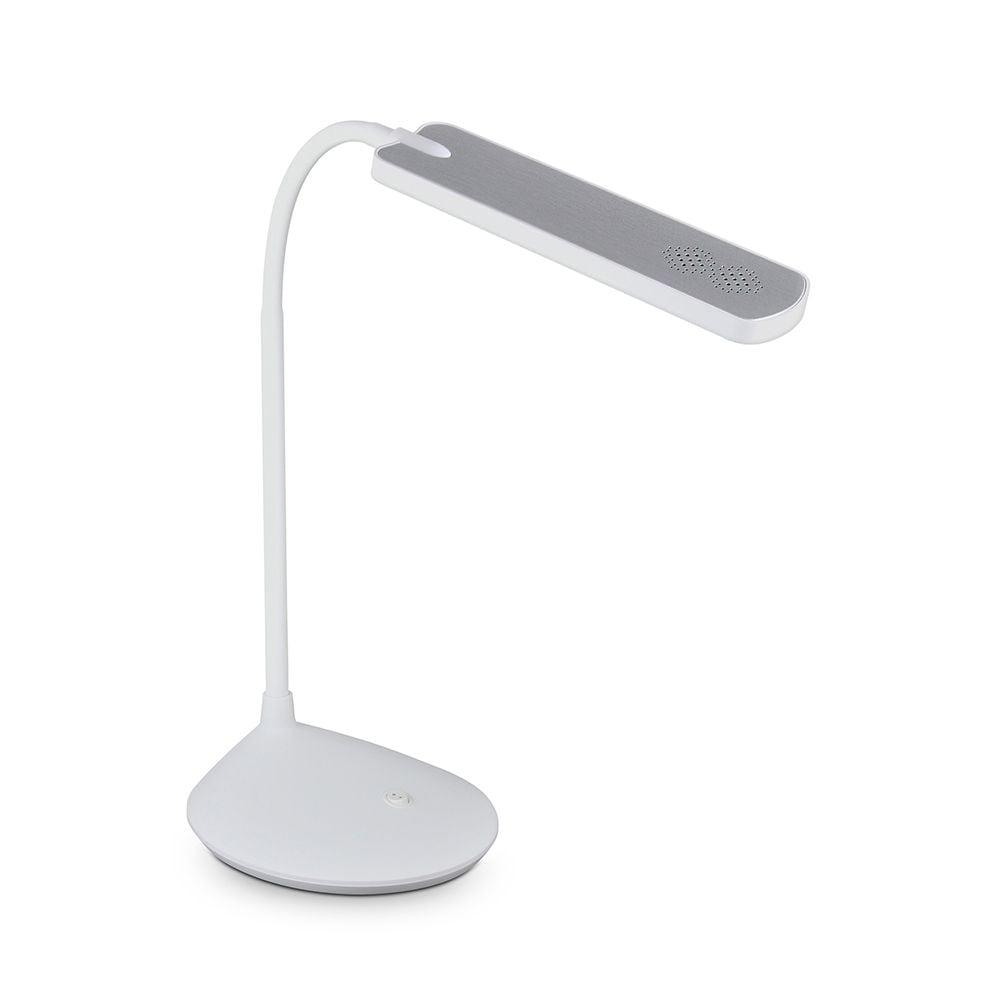 Lampa LED de birou Polux alb