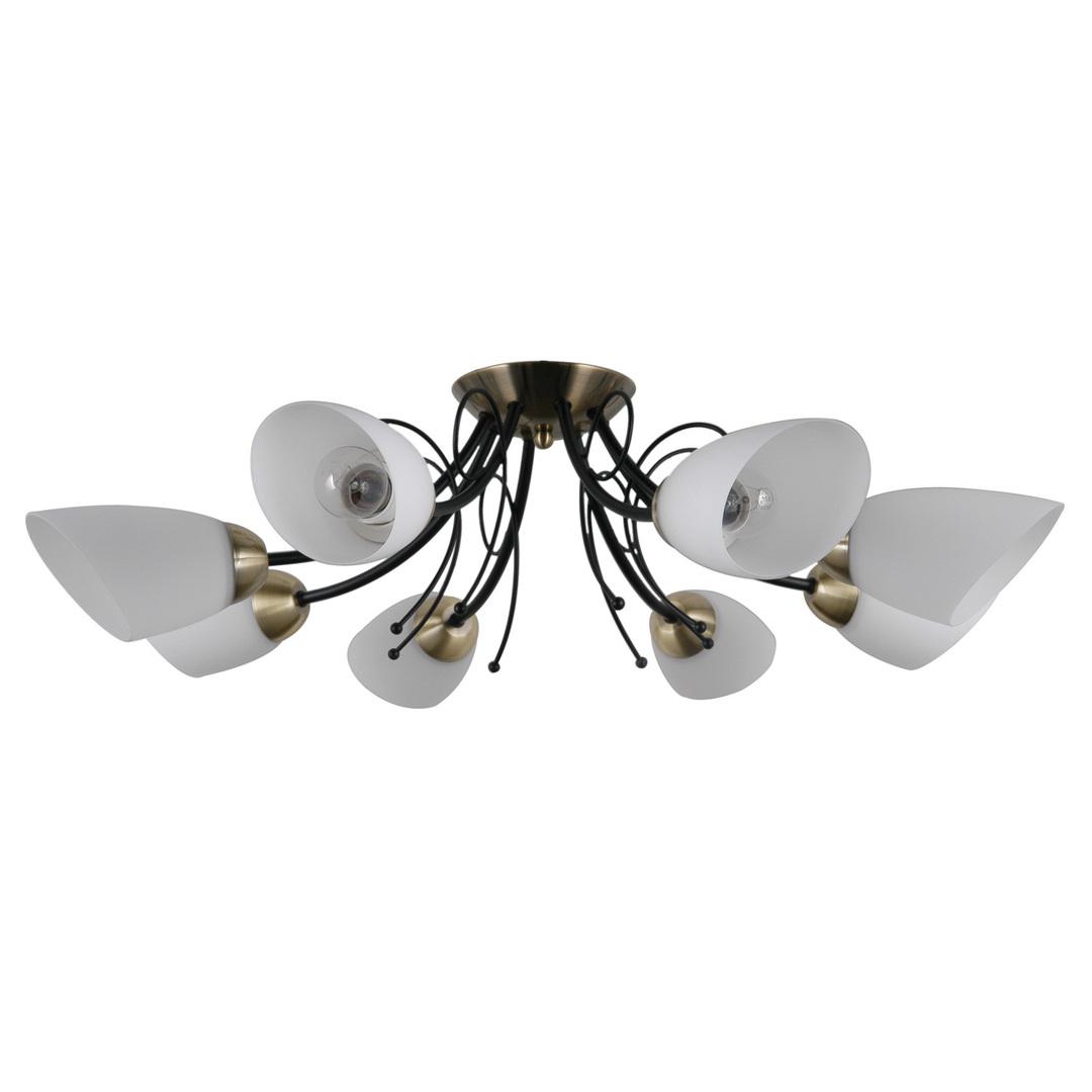 Lampă suspendată stilizată Cristina E27, 8 becuri