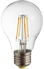 Bec cu filament LED POLUX A60 E27 806lm