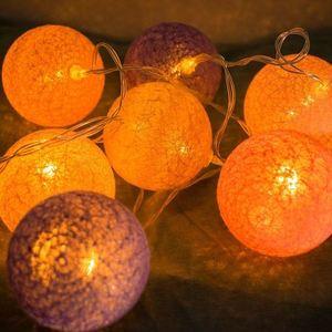 Bile din bumbac LED multicolore 20 buc. small 2