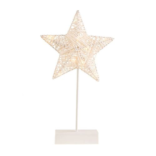 Star Plastic Standed Fire Led