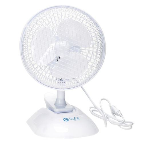 "Eko Light 6 ""2in1 Ventilator de masă alb"