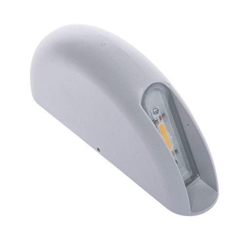 Corp de iluminat cu perete alb LED IP44 de 3 W