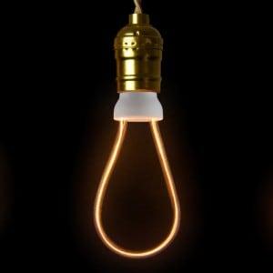 Bec decorativ LED ART Rustika, 8 W, E27 small 1