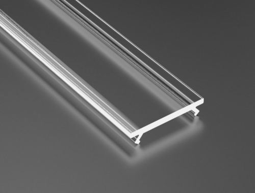 Difuzor transparent pentru profile de 2m