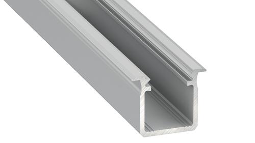 Profil aluminiu Sresbrny tip G 2m + Capac de lapte