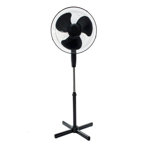 "Ventilator permanent Eko Light de 16 "", negru"