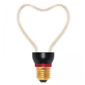 Bec decorativ LED Art Heart, 8W, E27 small 0