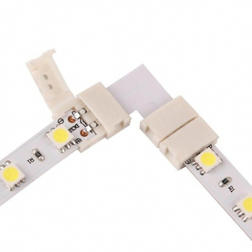 Conector led 10mm. Formă: L.