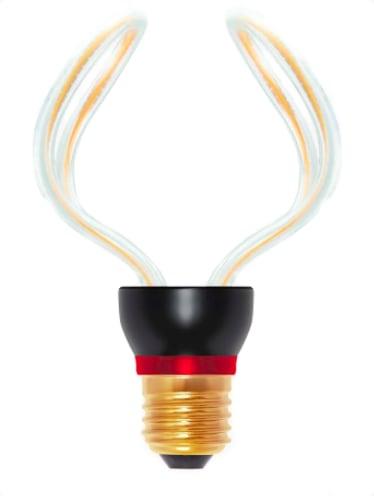 Bec decorativ LED Art Globo 2, 12W, E27